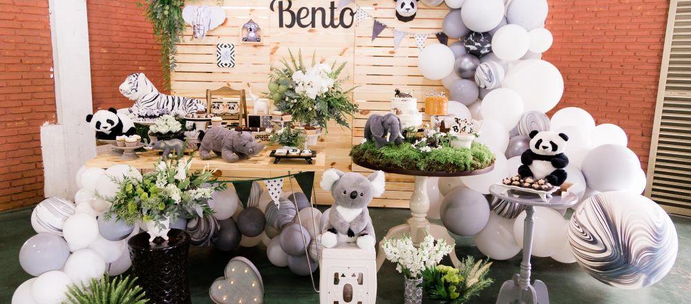 Bento faz 1 - Decoração moderna e família feliz!