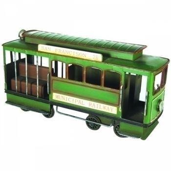 Miniatura Bonde Ferro Verde