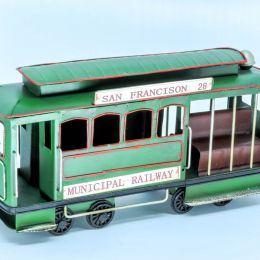 Miniatura Bonde Verde de Ferro
