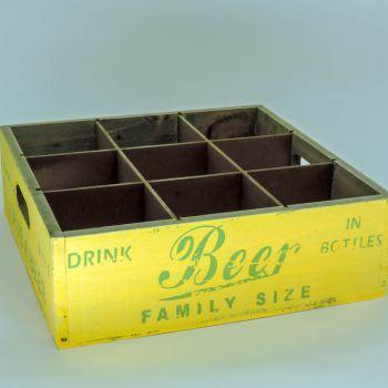 Miniatura de Engradado de Cerveja Vintage