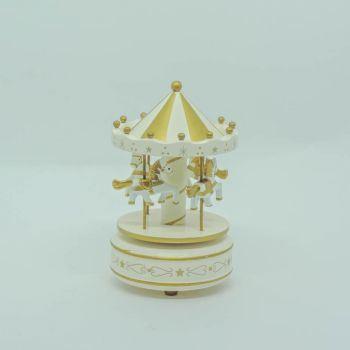 Carrossel Dourado Pequeno