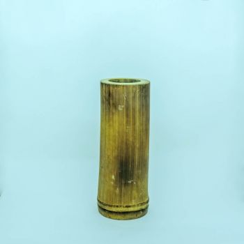 Vaso de Bambu Torre Medio