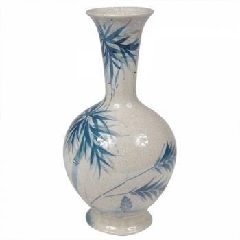 Vaso Coqueiro Azul Grande