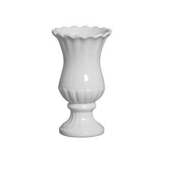 Vaso Branco Sicilia Pequeno