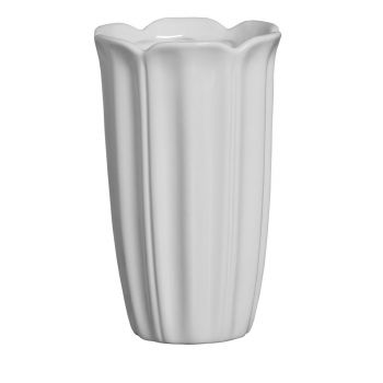 Vaso Branco Pétalas Grande