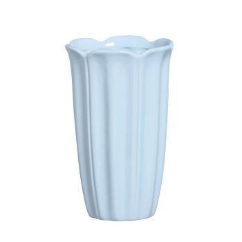 Vaso Pétalas Azul Candy G