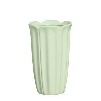 Vaso Pétalas Verde Candy G