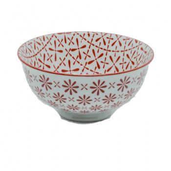 Bowl Libelula Vermelho M