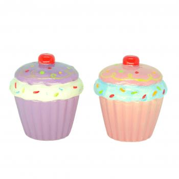 Mini Cupcake Rosa e Roxo
