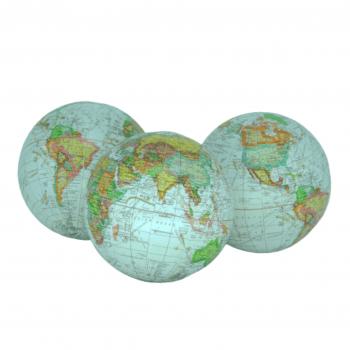 Trio de Globo Mundial