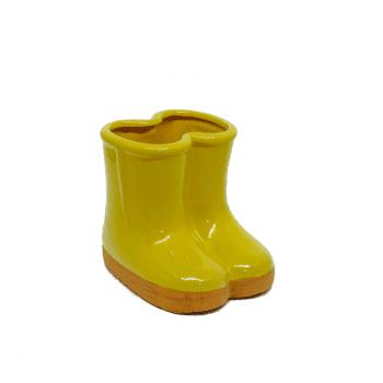 Vaso Botinha Amarelo