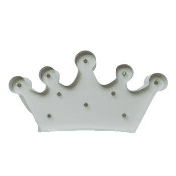 Luminoso Coroa Branco