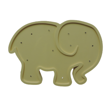 Luminoso Elefante Amarelo