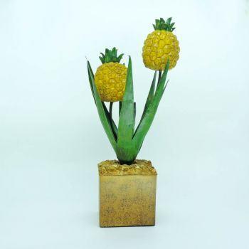 Flor de Abacaxi em Ferro