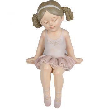Bailarina Sentada Rosa