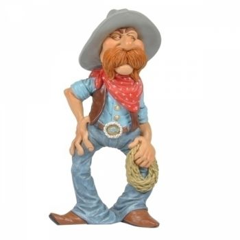 Mini Caricatura do Velho Oeste