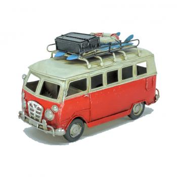 Miniatura Kombi Ferro Vermelha