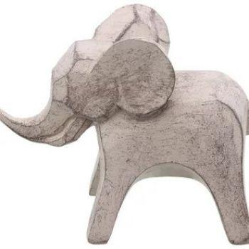 Elefante STK Branco