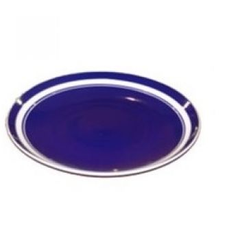 Bandeja Redonda Azul Marinho M