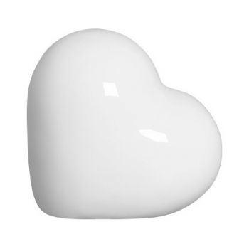 Coração Sil Branco P