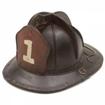 Capacete bombeiro cerâmica