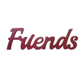 Placa Friends