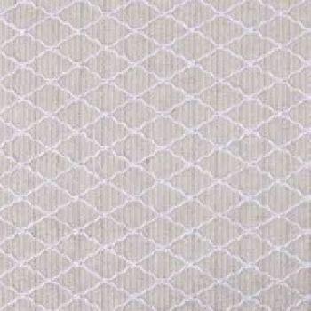 Caminho de Mesa Linho Textura Creme e Branco