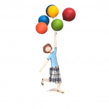 Menino com Balões SMotta