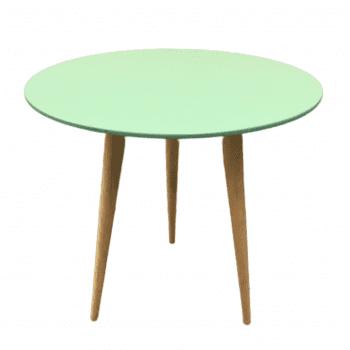 Mesa Pé Palito Verde Celadon