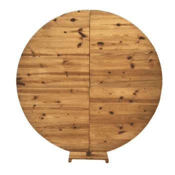 Painel Redondo Pinus