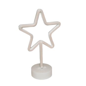 Luminoso Estrela Vazado