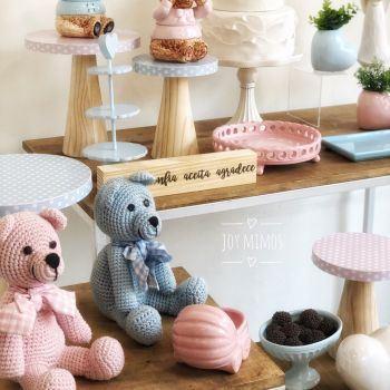 Revelação Ursos Rosa e Azul