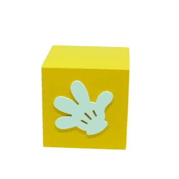 Caixa Luva Mickey Amarela