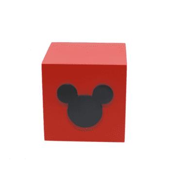 Caixa Mickey Vermelha
