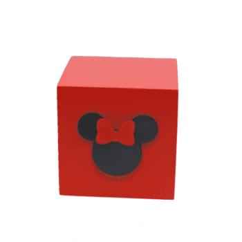 Caixa Minnie Vermelha