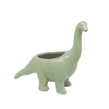 Dinossauro Longo Branco