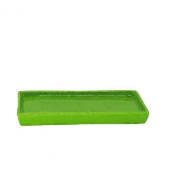 Porta Doce Reto Verde Vivo