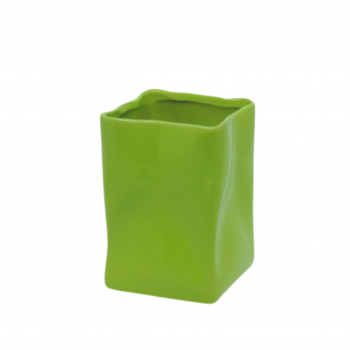 Vaso Saco Amassado Verde