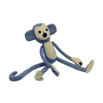 Macaco Feltro Cinza