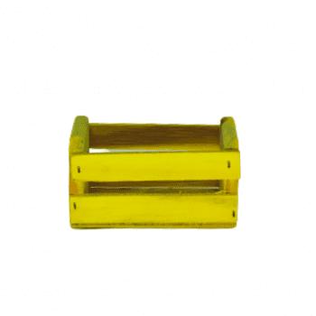 Mini Caixote Amarelo