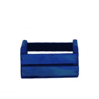 Mini Caixote Azul