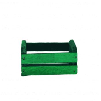 Mini Caixote Verde