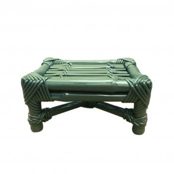 Banco Bambu Verde Musgo P
