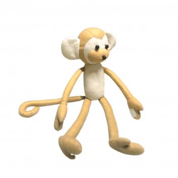 Macaco Feltro Bege